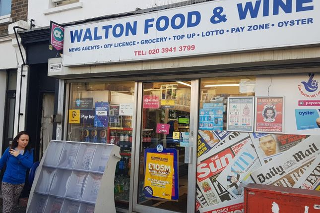Thumbnail Commercial property for sale in Walton Road, West Molesey, Surrey