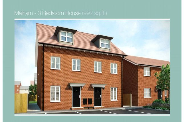 Thumbnail Property for sale in Plot 94 Malham Phase 3, Navigation Point, Cinder Lane, Castleford
