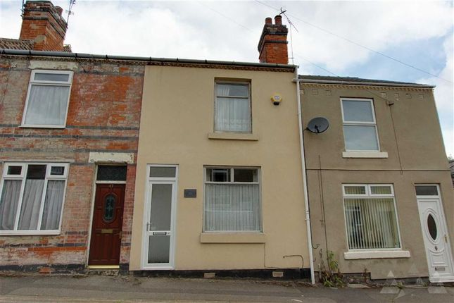 Thumbnail Terraced house to rent in Cromwell Street, Mansfield, Notts