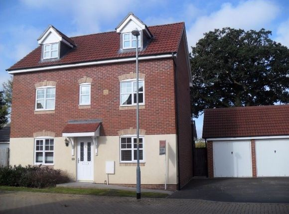 Thumbnail Detached house to rent in Bredon Drive, Kings Acre, Hereford