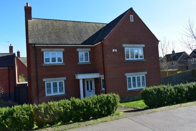 Thumbnail Detached house for sale in Bridge Green, Birstall, Leicester