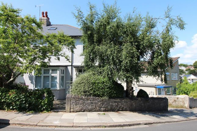 Thumbnail Semi-detached house for sale in Compton Park Road, Mannamead, Plymouth