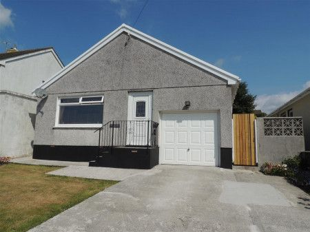 Thumbnail Detached bungalow for sale in Roslyn Close, St. Austell