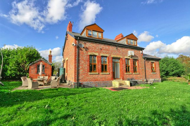 Thumbnail Detached house for sale in Moss Farm, Cutnook Lane, Irlam