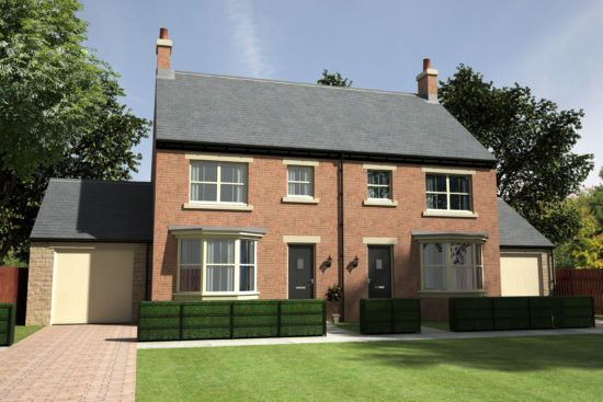 Thumbnail Semi-detached house for sale in Meadow Hill, Newcastle Upon Tyne