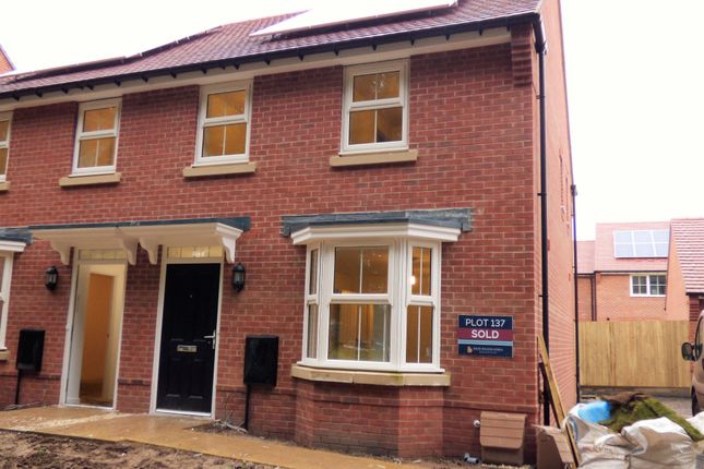 Thumbnail Semi-detached house to rent in Harrison Crescent, Angmering, Littlehampton