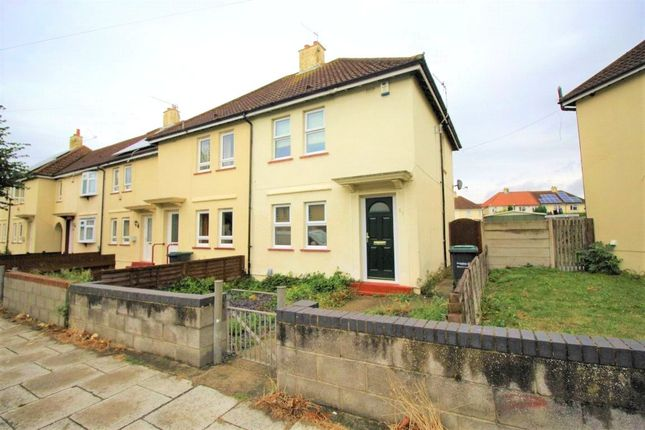 Thumbnail End terrace house to rent in Oak Road, Gravesend, Kent