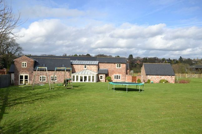 Thumbnail Barn conversion for sale in Adlington Road, Wilmslow