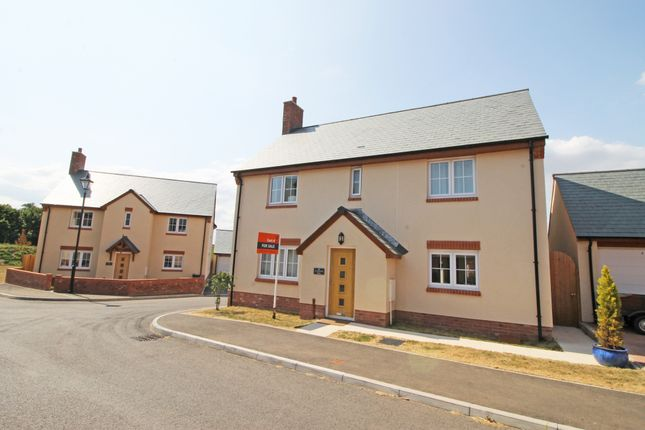Thumbnail Detached house for sale in Seaward Park, Clyst St. George, Exeter