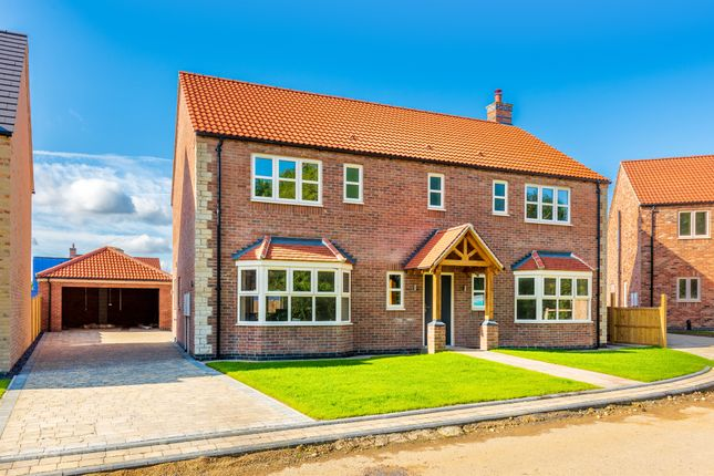 Thumbnail Detached house for sale in Plot 32, Thorne Lane, Scothern, Lincoln