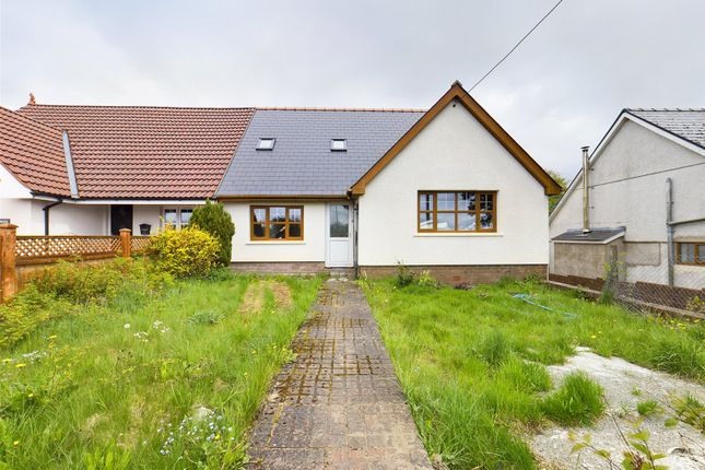 Thumbnail Bungalow for sale in Llangynidr Road, Beaufort, Ebbw Vale, Gwent