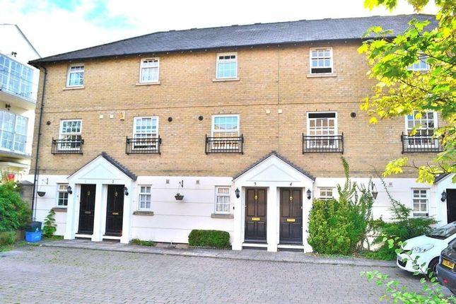 Thumbnail Terraced house to rent in Masterman Wharf, Bishops Stortford, Herts