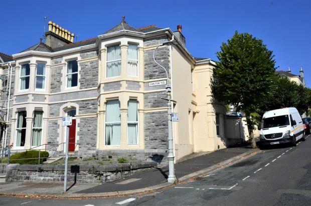Thumbnail End terrace house for sale in Greenbank Avenue, Plymouth, Devon