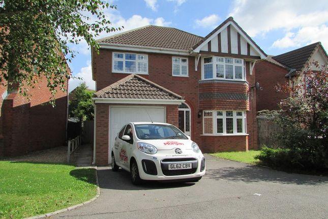 Thumbnail Detached house to rent in Llwyn Glas, Bridgend, Mid Glamorgan.