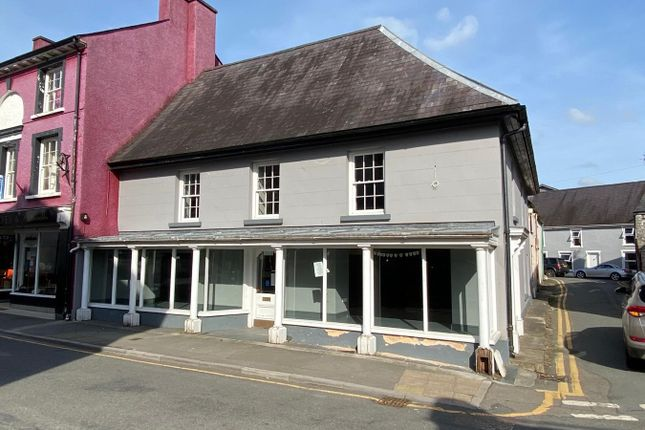 Thumbnail Commercial property for sale in Stone Street, Llandovery