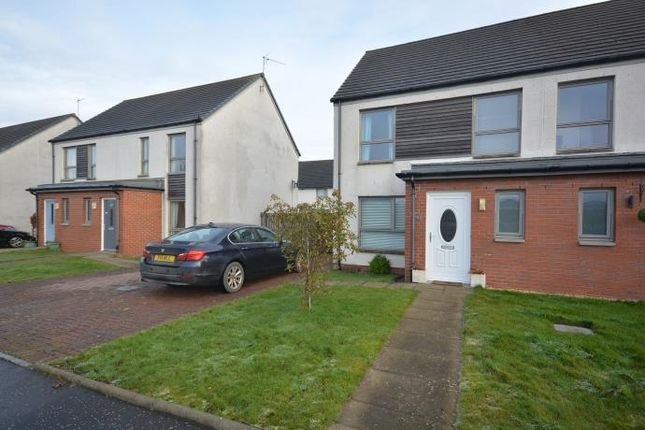 Thumbnail Semi-detached house to rent in Raploch Road, Stirling