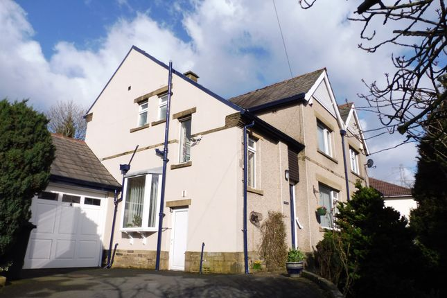 Thumbnail Semi-detached house for sale in Haworth Road, Wilsden, Bradford