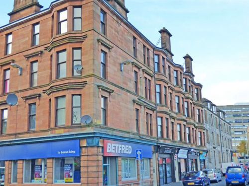Thumbnail 2 bed flat to rent in Newton Street, Greenock