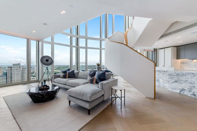 Thumbnail Flat to rent in Upper Ground, South Bank Tower, London