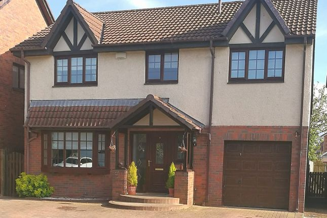 Thumbnail Detached house for sale in Glen Farrar Way, Kilmarnock