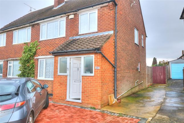 Thumbnail Semi-detached house to rent in Hill Rise, Luton