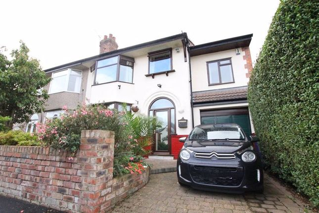 Thumbnail Semi-detached house for sale in Aldwych Road, West Derby, Liverpool