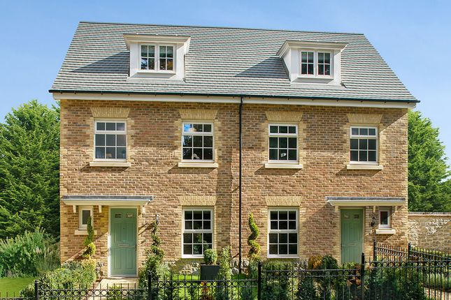 "Thumbnail 4 bed semi-detached house for sale in ""Wilmington Semi"" at James Whatman Way, Maidstone"