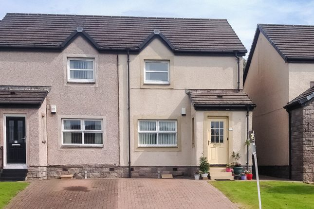Thumbnail End terrace house for sale in River View, Patna, Ayrshire