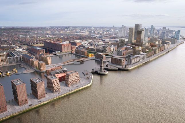 Thumbnail Flat for sale in Central Docks, Waterloo Road, Liverpool