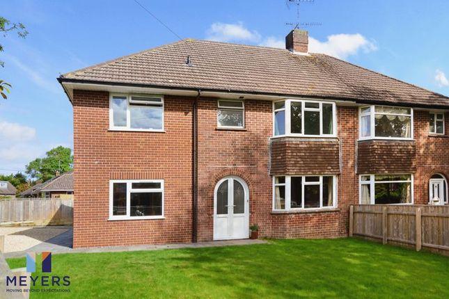 Thumbnail Semi-detached house for sale in Grosvenor Crescent, Dorchester