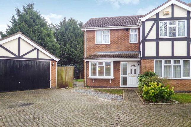 Thumbnail Detached house for sale in Swift Close, Syston, Leicester, Leicestershire