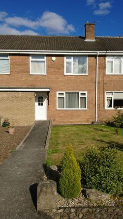 Thumbnail Terraced house to rent in Rowedge Walk, Westerhope, Newcastle Upon Tyne