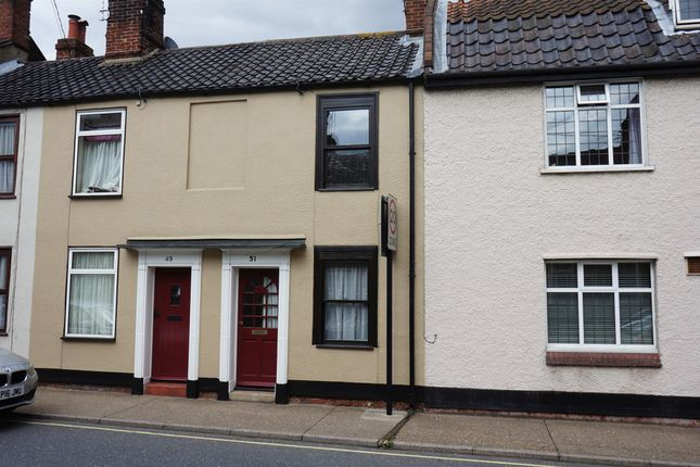 Thumbnail Terraced house for sale in Lower Olland Street, Bungay