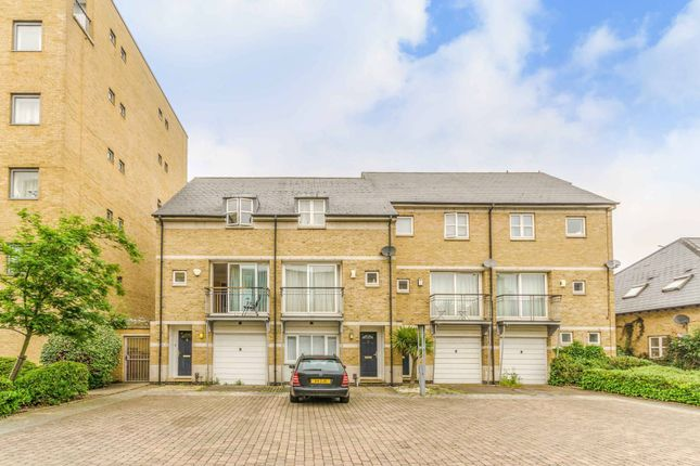 Thumbnail Terraced house to rent in Bering Square, Isle Of Dogs, London