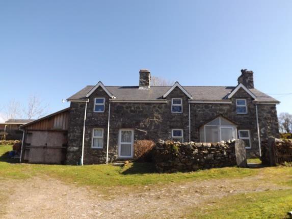Thumbnail Detached house for sale in Gellilydan, Blaenau Ffestiniog, Gwynedd