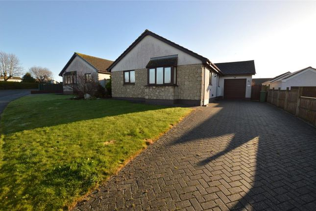 Thumbnail Detached bungalow for sale in Trelissick Fields, Hayle, Cornwall