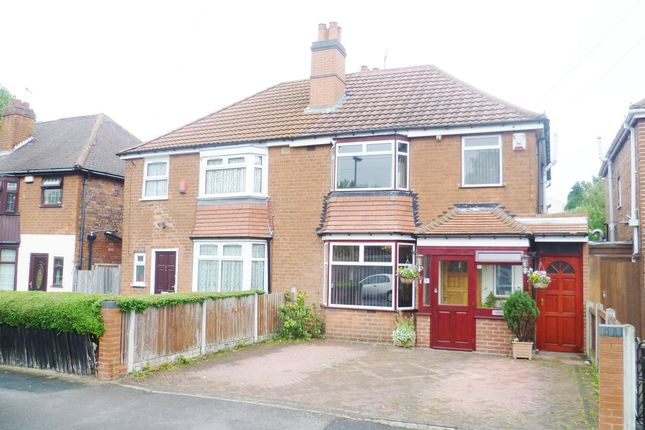 Thumbnail Semi-detached house for sale in Calthorpe Road, Handsworth, Birmingham