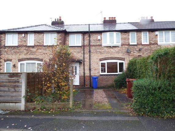 Front of Haldon Road, Manchester, Greater Manchester, Uk M20