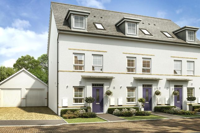 "Thumbnail Terraced house for sale in ""Padstow"" at Kergilliack Road, Falmouth"