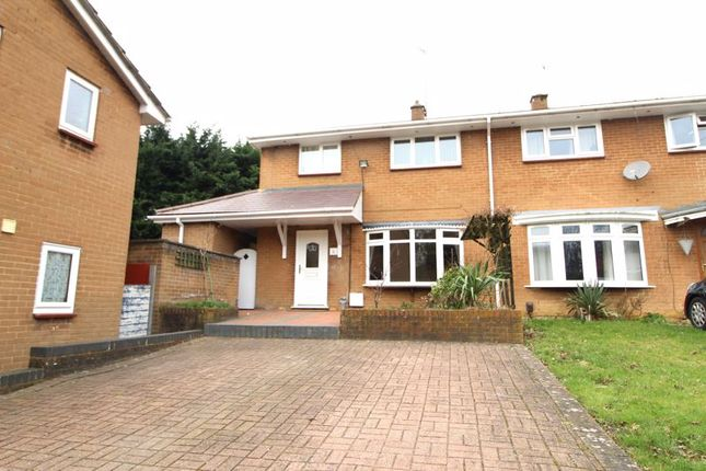 3 bed semi-detached house to rent in Cattsdell, Hemel Hempstead HP2