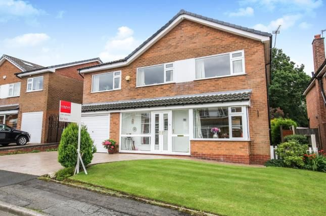 Front of Linksway, Gatley, Cheadle, Greater Manchester SK8