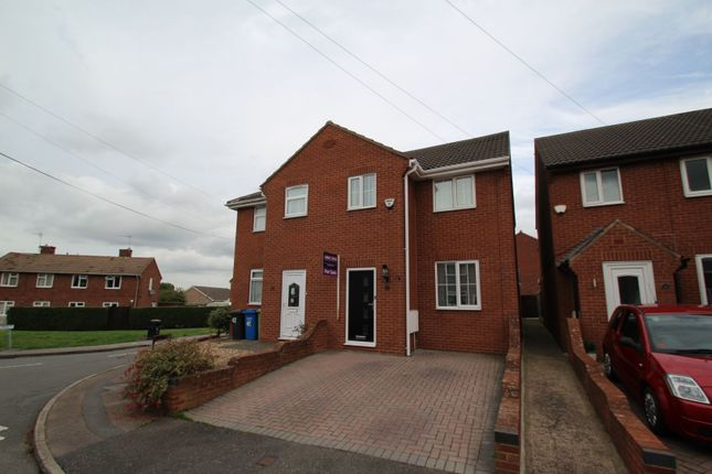 Thumbnail Semi-detached house for sale in Coronation Road, Chesterfield