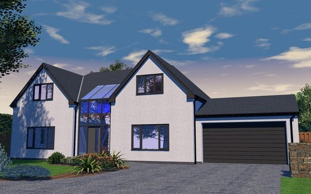 Thumbnail 4 bed detached house for sale in Oak Crest, Bawtry Road, Doncaster