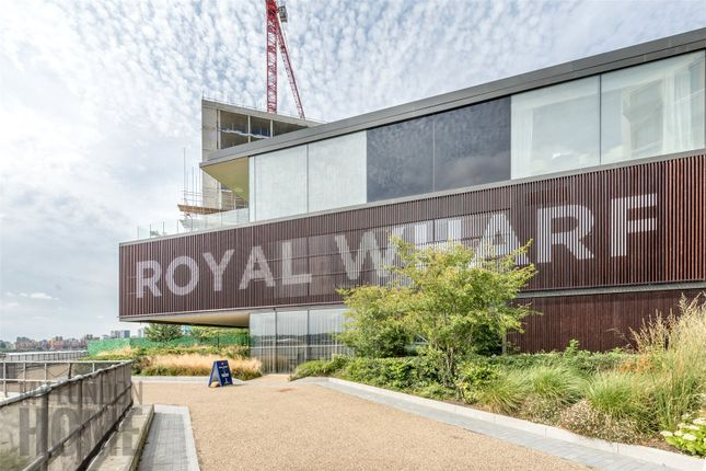 Thumbnail Property for sale in Parkview Place, Royal Wharf, Silvertown, London