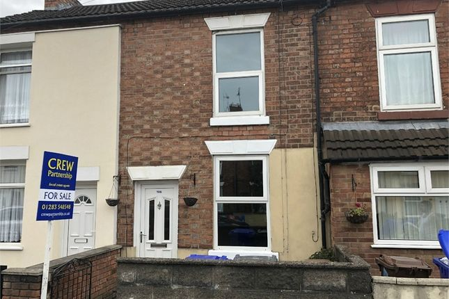 Thumbnail Terraced house to rent in Queen Street, Burton-On-Trent, Staffordshire