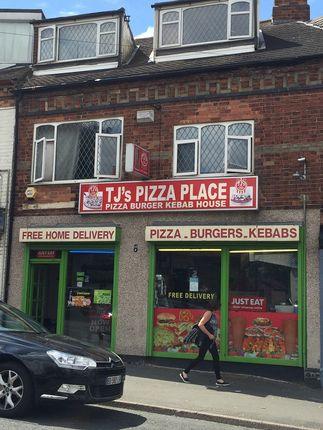 Thumbnail Restaurant/cafe to let in Market Street, South Normanton, Alfreton