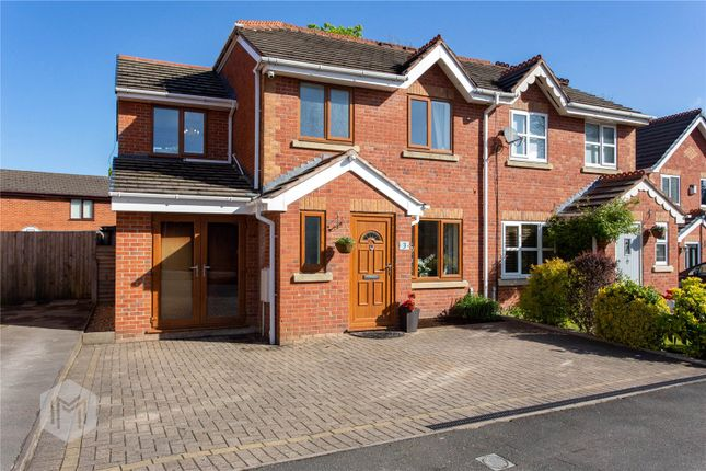 Thumbnail Semi-detached house for sale in Bramblewood, Hindley, Wigan