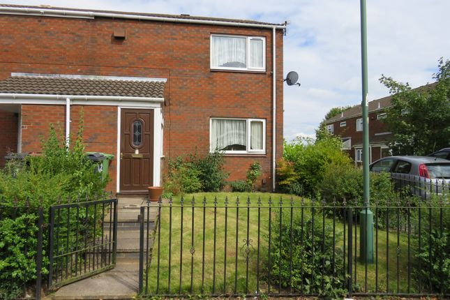 Thumbnail End terrace house for sale in Malkit Close, Walsall