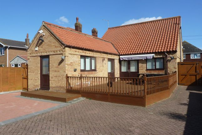 Thumbnail Detached bungalow for sale in Wellington Road, Mablethorpe