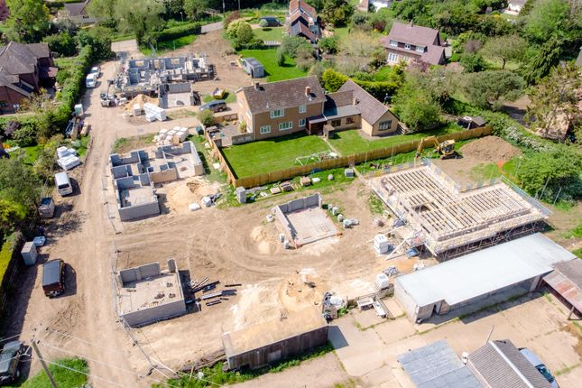 Thumbnail Detached house for sale in Hamerton Road, Alconbury Weston, Huntingdon